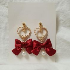 Etsy Earrings, Clip On Earrings, Cute Jewelry, Jewelry Accessories, Crystal Aesthetic, Korean Earrings, Gift Wrapping Services, Aesthetic Hair, Tiaras And Crowns
