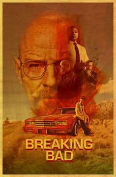 Breaking Bad Poster by Nathan Boone