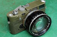 Leica M6 with Canon 50mm / f0.95