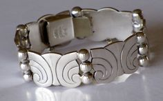 TAXCO MEXICAN STERLING Silver Bracelet