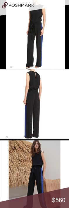 Alexis karolin jumpsuit athletic stripe New with tags. Still full price in stores . No offline transactions or trades. Reasonable offers via offer option only. alexis Dresses
