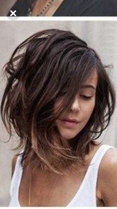 Layered Bob Hairstyles, Pretty Hairstyles, Medium Hair Styles, Short Hair Styles, Gorgeous Hair Color, Hair Images, Cool Haircuts, Cut And Color, Short Hair Cuts