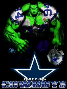 This is perfect! I love Hulk and the Cowboys♥♥