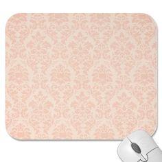 Mooie Roze Damast Muis Matten door GiftShopOnline