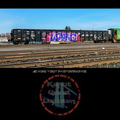 """Graffiti Perpetuum Mobile"" (on-going series) Je Vois Tout Photographié à la kaput.gerat.lupinum@gmail.com /// #graffiti #graffititrain #graffitiart #paintedtrains #graffitiporn #kaputgeratlupinum #kryptoneyed #mementomori #deusexmachina #heisenberg #somnambulist #fairebeaucoupdefforts #jevoistout #anomie #railheads #foamers"