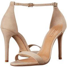 Schutz Cadey-Lee High Heels ($170) ❤ liked on Polyvore featuring shoes, sandals, schutz shoes, schutz sandals, schutz footwear, open toe sandals and schutz