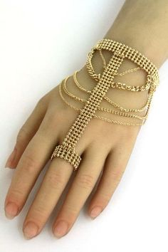 63 Beautiful Ring Bracelets Back Jewelry Charm Bracelet Chain