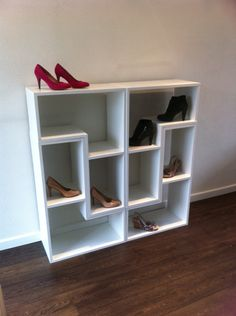 Vakkenkast van Woodit | schoenenkast