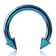 16g Titanium Circular Barbell w/ Cones