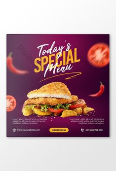 Burger Specials, Restaurant Specials, Best Grilled Chicken Marinade, Chicken Marinades, Pizza Special, Food Promotion, Money Sign, Food Menu