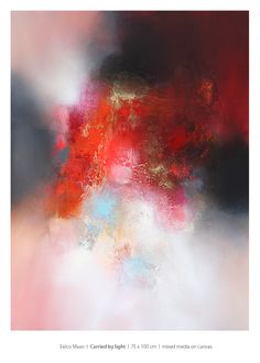 """""""Carried by light"""", 75 x 100 cm. Available at Arkley Fine Art / Hitchin / UK. #contemporaryart #abstracts #abstractpainting #abstract #fineart #modern art #painting #colorfull Modern Art, Contemporary Art, Abstract Paintings, Fine Art, Artwork, Color, Painting Abstract, Work Of Art, Auguste Rodin Artwork"""
