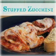 Stuffed Zucchini | My Wild Kitchen - Your destination for wild recipes