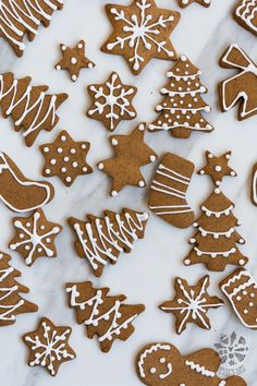 Gingerbread cookies - chewy, soft and delicious Christmas Brunch, Christmas Sweets, Christmas Candy, Christmas Baking, Christmas Puzzle, Christmas Cookies Packaging, Christmas Sugar Cookies, Holiday Cookies, Best Gingerbread Cookies