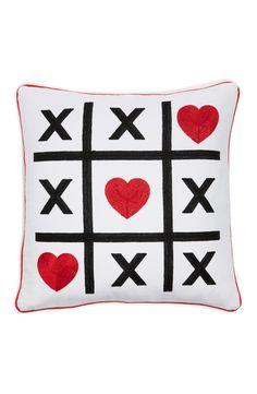 Levtex 'Tic Tac Toe' Accent Pillow
