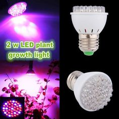 2W E27 Garden Plant Growth LED Bulb Greenhouse Plant Seedling Light   What does include #goodbuy:  Enjoyable shopping at cheapest prices Best quality goods 24/7 support & easy communication 1 day products dispatch from warehouse Fast & reliable shipment (7-25 business days)   2W E27...