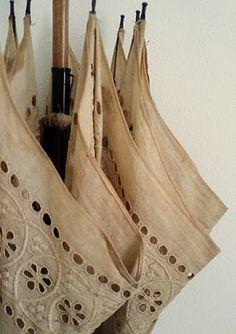Color Neutros - Neutrals!!!  lace umbrella