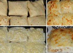 Zapečené palačinky s kuřecím masem a sýrem