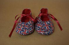 sepatu bendera-bendera  Handmade Baby Shoes for Boys