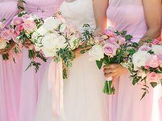 Pretty pink wedding! Violetta Flowers, San Francisco.