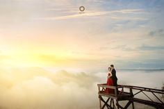 With you i wish to see sunrise.  For in the light, i see your eyes and from deep within from you to me. It is your heart and your soul that sets me free. . . Courtesy from Pre Wedding of @ayyukirana & @fachry_adhitya Location Kediwung, Dlingo Bantul Yogyakarta. Photograph by @andrew_rawk MUA by @amrysophiamakeup Check our website for the other photos at www.alvinphotography.co.id