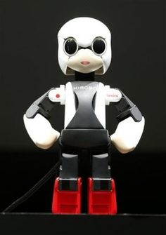 """Kirobo, the world's first talking humanoid robot """"astronaut,"""" launched from Japan on Aug. 4, 2013 for the ISS. The diminutive bot will work in space with JAXA astronaut Koichi Wakata and communicate with another robot on Earth. #technology #robotics"""
