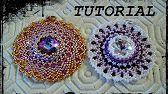 "Tutorial Peyote: Orecchini ""Candy Flower"" - YouTube"