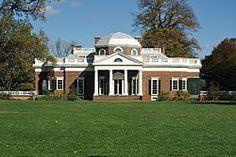 Monticello, estate of Thomas Jefferson
