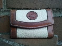 Vintage Dooney And Bourke Two Tone Pebbled Key Fold by Binzorama, $12.00