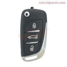 CAR KEY FOB FOR 2015-2018 Acura ILX RLX TLX Smart Key 4 Buttons FCCID KR5V1X ;by AUTO KEY MAX SINGLE