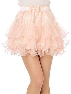 Glassy Frilled Skirt from Liz Lisa