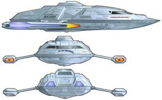 Views of the Sovereign-class starship's captain's yacht Click to enlarge