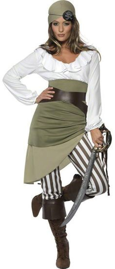 Diy the 19 most wanted costumes of the year costumes homemade smiffys womens shipmate sweetie costume top skirt leggings bandanna belt and bootcuffs multi medium check this awesome product by going to the link at solutioingenieria Image collections