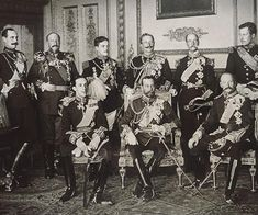 In May 1910, European royalty gathered in London for the funeral of King Edward VII. Among the mourners were nine reigning kings, who were photographed together in what very well may be the only ph…