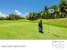 VIAJES PARA JUBILADOS TODO INCLUIDO AL CARIBE. ¿Te imaginas disfrutar tu retiro laboral en los campos de golf de Punta Cana, rodeado de exuberante naturaleza? En Booking Hello, te ofrecemos las mejores opciones para viajar a República Dominicana y vivir una magnífica experiencia en los diferentes atractivos turísticos de la zona. Para mayores informes, puedes contactarnos a través de nuestro sitio en internet www.bookinghello.com. #BeHello