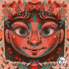 Draw symmetrical faces in Procreate @procreateapp #procreate #symmetry #face #drawingtips Speed Paint, Face Art, Drawing Tips, Digital Art, Faces, Drawings, Videos, Illustration, Youtube
