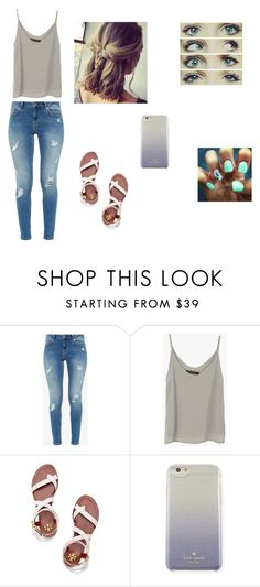 """Untitled #544"" by martinez-shell ❤ liked on Polyvore featuring beauty, Ted Baker, Tory Burch and Kate Spade"