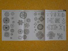 Mulgi embroidery motifs