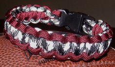 Roll Tide Survival Bracelet//// or for those Waskom fans around here!!! Cute!