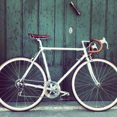Vintage Road bike Masil Campagnolo groupset super-record brooks cinelli aero