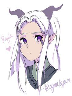Rayla by pxyI on DeviantArt Rayla Dragon Prince, Prince Dragon, Dragon Princess, Cartoon Tv, Cartoon Shows, Rayla X Callum, Netflix, Character Art, Character Design