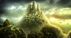Concept Art and Matte Paintings by Edvige Faini - What an ART