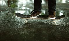 board and shoes