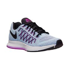 Women's Nike Air Zoom Pegasus 32 Running Shoes ($110) ❤ liked on Polyvore featuring shoes, athletic shoes, running shoes, womens athletic shoes, patterned shoes, nike waffle shoes and famous footwear