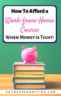 If it's a course worth taking, chances are the tuition is going to be a bit of an investment. But a worthwhile investment is always worth making! Here are our best budgeting ideas for affording the course that will help you build the home-based business o Online Work From Home, Work From Home Business, Work From Home Moms, Business Ideas, Business Design, Online Business, Make Money Fast, Ways To Save Money, Bookkeeping Business