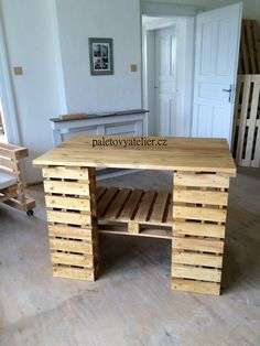 Pallet Room, Minimalism, Dining Table, Rustic, Furniture, Home Decor, Country Primitive, Decoration Home, Room Decor