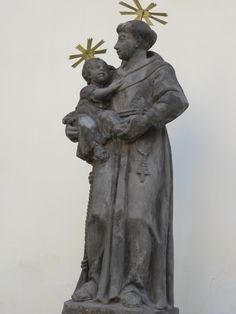 Statue at Our Lady of the Snows in Prague. Photo by Jennifer Scroggins of Franciscan Media.