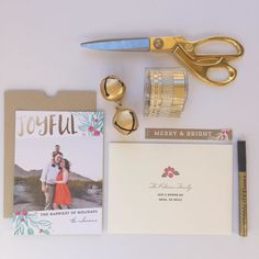 Send a little holiday cheer with Minted Holiday greeting cards and free recipients addressing with Minted Envelope.