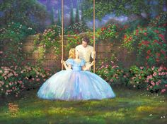 Dreams Come True Thomas Kinkade art for sale at Toperfect gallery. Buy the Dreams Come True Thomas Kinkade oil painting in Factory Price. Thomas Kinkade Disney, Thomas Kinkade Art, Cinderella Live Action, Cinderella Movie, Cinderella 2015, Kinkade Paintings, Oil Paintings, Disney Fine Art, Disney Paintings