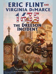 1635: The Dreeson Incident (Ring of Fire Book 8) by Eric Flint, http://www.amazon.com/dp/B00AP944K8/ref=cm_sw_r_pi_dp_AxzUtb14XKZQH