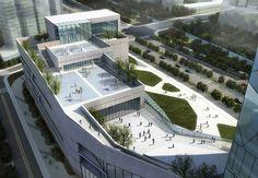 hangzhou civic sports center: bluarchitecture - designboom | architecture
